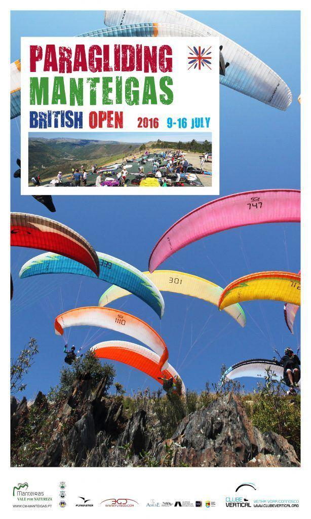 British Open 2016 - Paragliding Manteigas