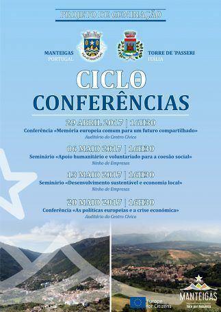 Projeto Geminação Manteigas – Torre de' Passeri – Ciclo de Conferências