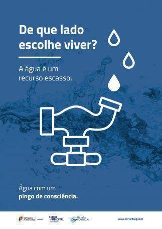 Campanha «Água com um Pingo de Consciência»