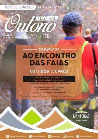 Festival de Outono Manteigas 2018 – Caminhada – Ao Encontro das Faias
