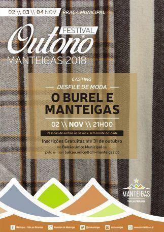 Festival de Outono Manteigas 2018 – Casting – Desfile de Moda – O Burel e Manteigas