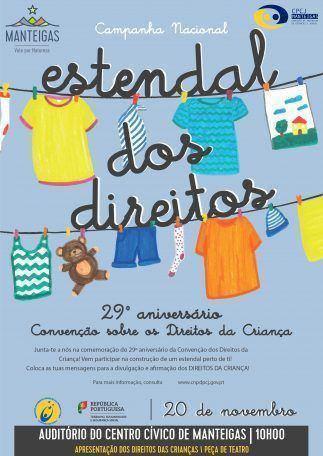 Comemoração do 29.º Aniversário da Convenção dos Direitos da Criança