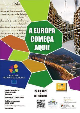 Exposição «Marca do Património Europeu»