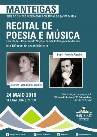 Recital de Poesia e Música
