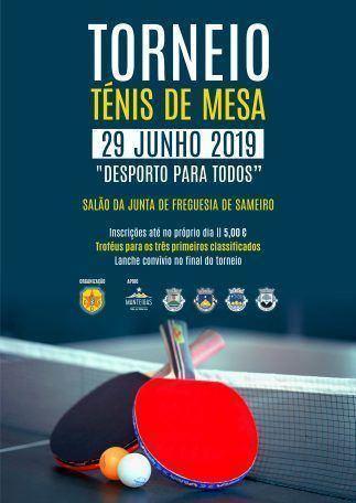 Torneio Ténis de Mesa 2019