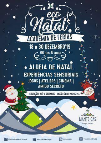 Eco Natal – Academia de Férias