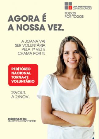 Liga Portuguesa Contra o Cancro- Campanha de  Recrutamento de Voluntários
