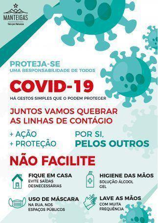 COVID-19 – Proteja-se, uma responsabilidade de todos