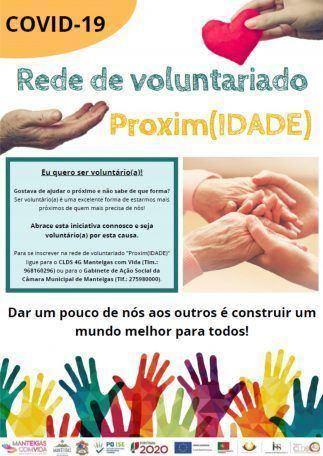 COVID-19 – Rede de Voluntariado Proxim(IDADE)