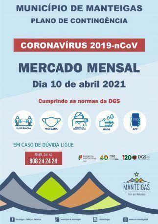 Realização do Mercado Mensal | 10 de abril 2021
